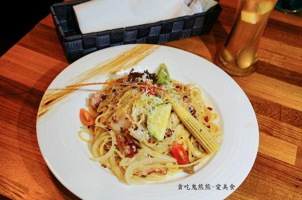 培根白醬蛋黃義大利麵