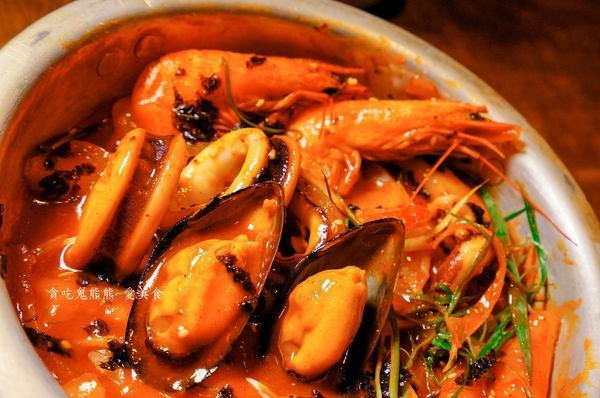海鮮辣炒年糕